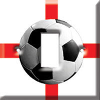 England Football Light Switch Cover