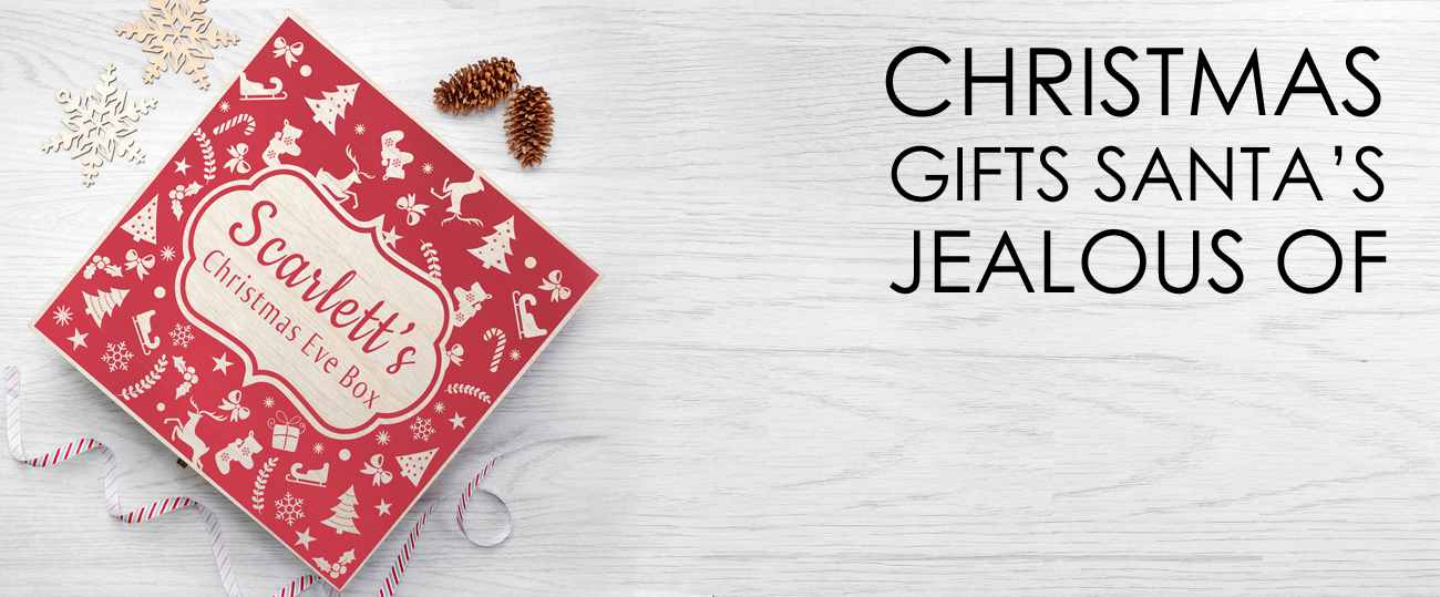 personalised christmas gifts banner